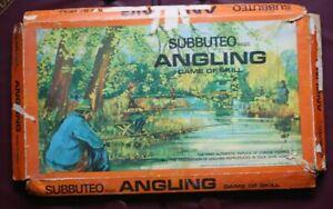 Vintage Subbuteo Angling / Fishing Game