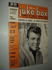 JUKE BOX 036 (1/10/59) FABIAN PRESLEY FRANKIE AVALON DALIDA RICKY NELSON BECAUD