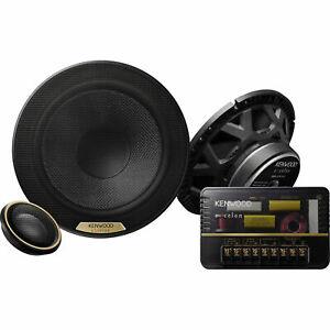 "NEW Kenwood XR-1701P Hi-Res 6.5"" Audio Component Speaker System 6-1/2"" PAIR"