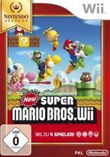 Nintendo Wii +Wii U New Super Mario Bros Selects NEU