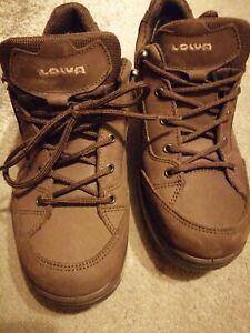 Mens LOWA Renegade GTX low Walking Shoes Brown Sports size UK 7