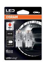 Osram Premium LED 582/382W 3W Red Brake Light Bulbs W21W W3x16d T20 7905R-02B