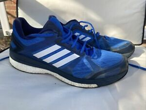 ADIDAS SUPERNOVA SEQUENCE 9 MENS BLUE RUNNING TRAINERS SIZE 9.5