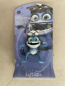 """Crazy Frog The Annoying Thing - Figure Keyring Brand New Extremely Rare 3.5"""""""