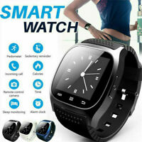 Mate Wrist Waterproof Bluetooth Smart Watch For Android HTC Samsung iPhone iOS -