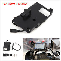 Phone GPS Navigation Bracket Mount USB Charger for BMW R1200GS  ADV F700/800GS