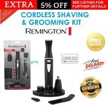 Remington Cordless Beard Trimmer Mens Shaver Groomer Nose Face Grooming Kit