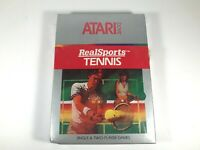 Realsports Real Sports Tennis ATARI 2600 Video Game System Brand New