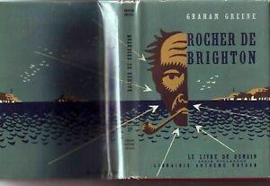 GRAHAM GREENE ROCHER DE BRIGHTON in RARE Wrapper Fine Clean French Wrapper 1947