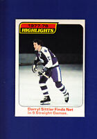 Darryl Sittler HL HOF 1978-79 O-PEE-CHEE OPC Hockey #4 (NM) Toronto Maple Leafs