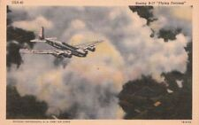 Postcard Airplane Boeing B-17 Flying Fortress