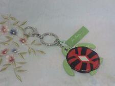 Vera Bradley Seashore Keychain Sun Valley Turtle Laminated Cotton BIN $20