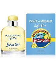 Dolce & Gabbana Light Blue Italian Zest 4.2 Oz 125ml EDT Spray For Men