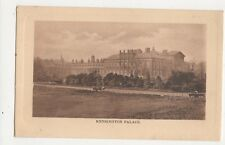 Kensington Palace London Vintage Postcard 293a