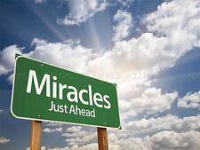 FOTO miracoli Ahead Segnale nubi SUNBEAMS fede religione Arte Poster Stampa lv6060