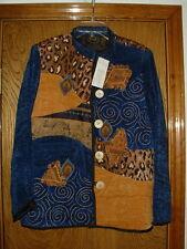 Women's Vintage Julia Kim Chenille & Tapestry Jacket NWT Medium