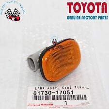 NEW GENUINE OEM TOYOTA 93-98 SUPRA LEFT/RIGHT SIDE TURN SIGNAL LAMP 81730-17051