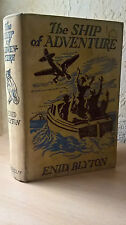 The Ship of Adventure, Enid Blyton, Macmillan, 1950 [First Edition/Reprinted]