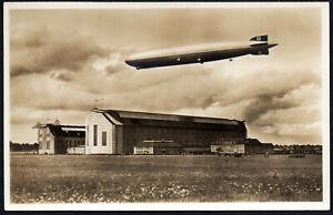 ✔️ GERMANY DR Luftschiff Graf Zeppelin NICE UNUSED POSTCARD