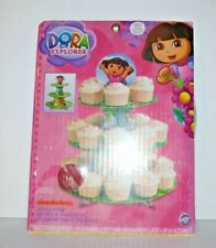 Dora the Explorer Cup Cake Stand 3 tier - Holds 24 Cupcakes New