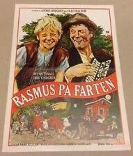 """Rasmus på luffen"" Edwall Astrid Lindgren 1981 Danish Movie Press Release Kit"