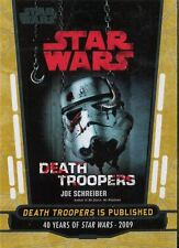 Star Wars 40th Anniversary Gold Base Card #93 Death Troopers is Published