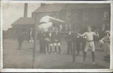 Sport, Athletics - High Jump - anon postcard - real photo c.1910s