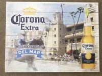 NEW LIMITED EDITION DEL MAR RACETRACK Corona Extra Beer Tacker WOODEN Sign