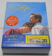 Call Me By Your Name Collector's Edition Blu-ray Booklet Tote Bag Photo Japan