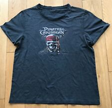 Pirates of the Caribbean Film Crâne T SHIRT M NEUF