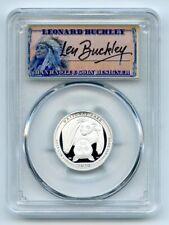 2020 S 25C Silver American Samoa Quarter PCGS PR70DCAM FDOI Leonard Buckley