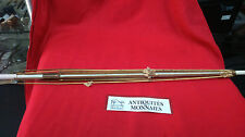 OMBRELLE ANCIENNE A RESTAURER 96 CM BAGUE OR POMMEAU MOTIF CHERUBINS REF25032
