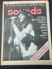 Sounds Magazine Feat Linda Ronstadt: November 20th, 1976