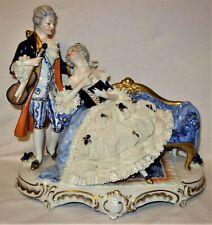 Antique Unter Figurine Unterweissbach German Porcelain