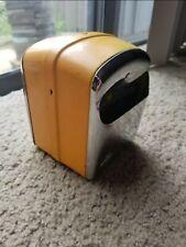 Vintage Marathon Diner Napkin Dispenser Metal Chrome Holder Compact