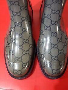 Gucci Monogram Gum boots size US 7.5 (38 EUR)