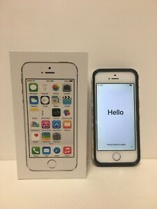 iPhone 5s Silver 32 GB A1533 In Box
