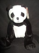 Nuovo con etichette Ty Beanie Baby Mandy-Panda Bear