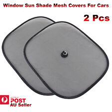Window Sun Shade Mesh UV Protector Shield Curtain Covers Baby For Car 2Pcs