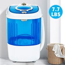 7.7 LBS Mini Portable Compact Washing Machine Semi-Automatic Washer Laundry Blue