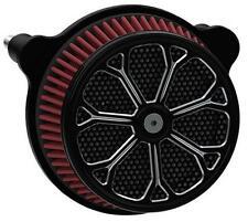 HardDrive Custom Air Cleaner Assemblies Black Revolver F2122A-ACTBW