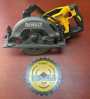 """DEWALT DCS577B FLEXVOLT 60V MAX 7-1/4"""" Cordless Worm Drive Style Saw (Tool Only)"""