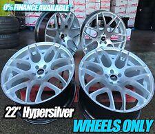 """22"""" HYPERSILVER Alloy Wheels - AUDI / BMW / MERCEDES / RANGE ROVER / VW 4X4"""