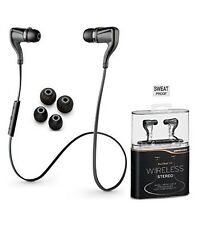 "Plantronics BackBeat Go P2i Premium Sound Sports Wireless Bluetooth ""SWEAT Proof"