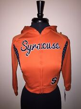 SYRACUSE ORANGEMEN ZIPPERED HOODIE GIRLS MEDIUM COLOSSEUM ATHLETICS NEW WITH TAG