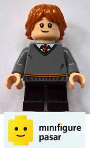hp151 Lego Harry Potter 75954: Hogwarts Great Hall - Ron Weasley Minifigure New