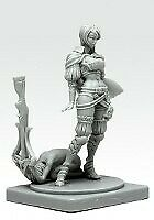Pinup Great Game Hunter Model for Kingdom Death Game Resin Figure Recast 30 mm