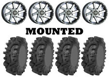 Kit 4 Sedona Mudder Inlaw Tires 32x10-14 on Raceline Twist Machined Wheels Fxt (Fits: More than one vehicle)