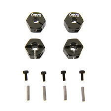 Atomik RC Alloy Hex Adaptor (12mm x 9mm) : Axial EXO TERRA - Grey