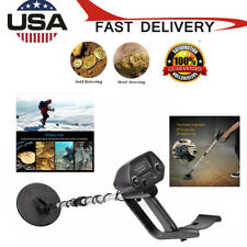 Waterproof Metal Detector Deep Sensitive Search Gold Digger Hunter 6.5in Md-4030